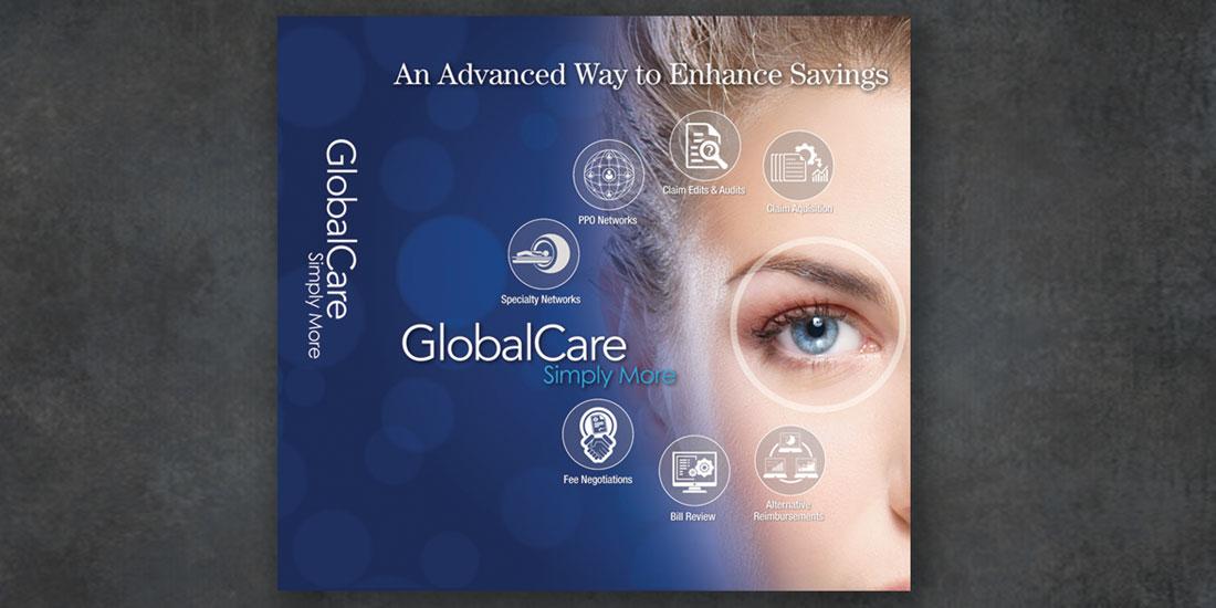 deHaas Creative Portfolio: Global Care brochure